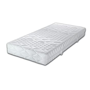 malie jupiter 7 zonen taschenfederkern matratze tonnentaschenfederkern mit waschbarem bezug 60 c. Black Bedroom Furniture Sets. Home Design Ideas