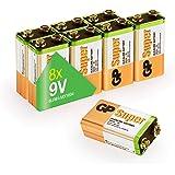 10er Pack Varta 4922 Longlife Power 9v Block Batterie Elektronik