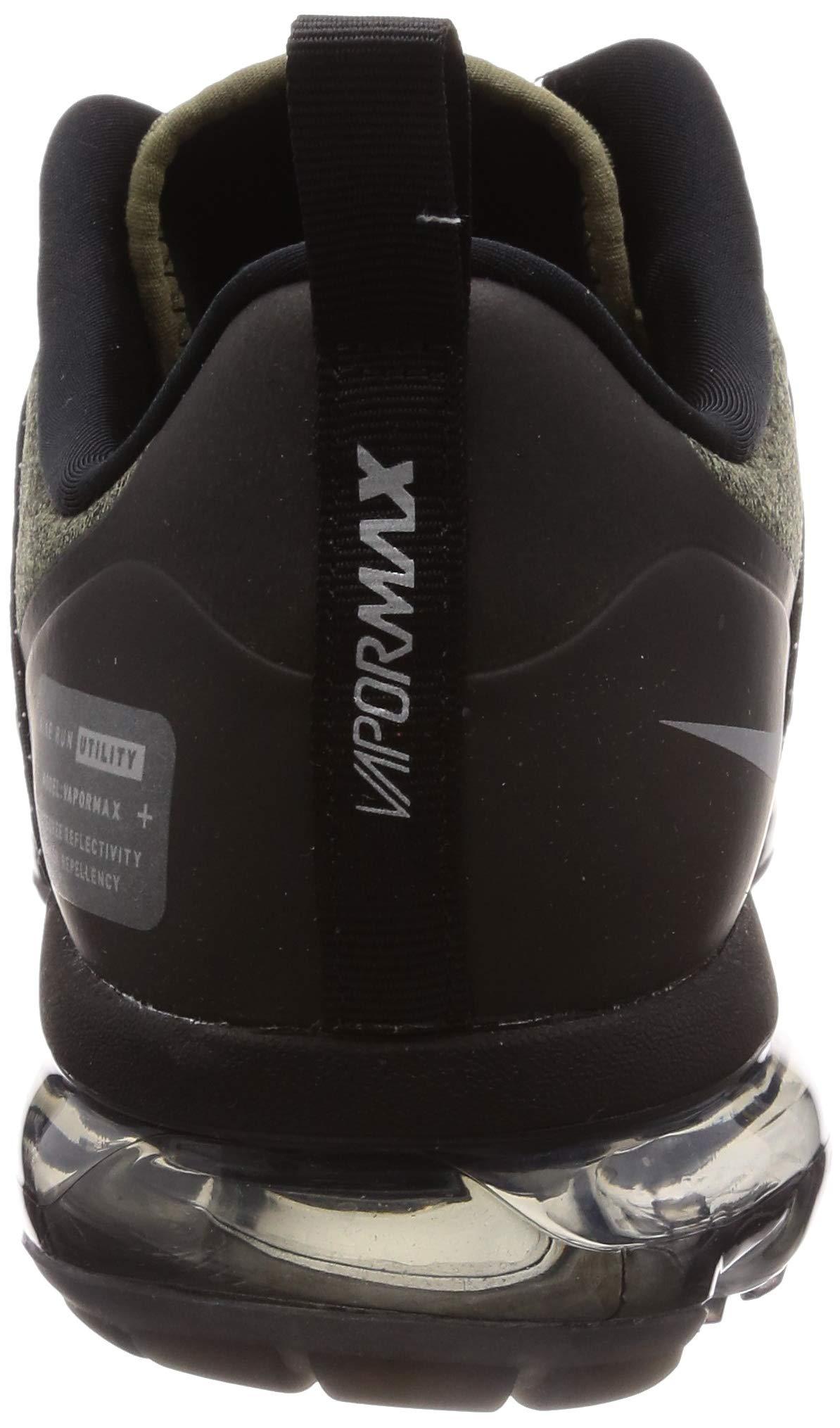 71QtJBHD9 L - Nike Men's Air Vapormax Run Utility, Medium Olive/Reflect Silver