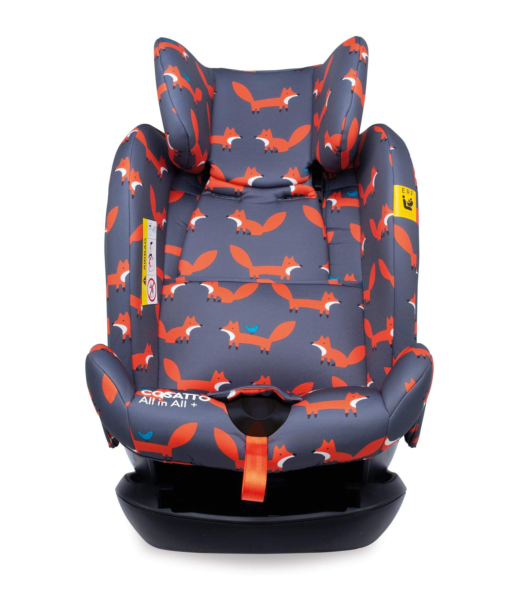 Cosatto CT4241 All in All + Group 0+123 Car Seat Mister Fox 8.9 kg Cosatto Extended rear facing Suitable for all stages Extra security 9