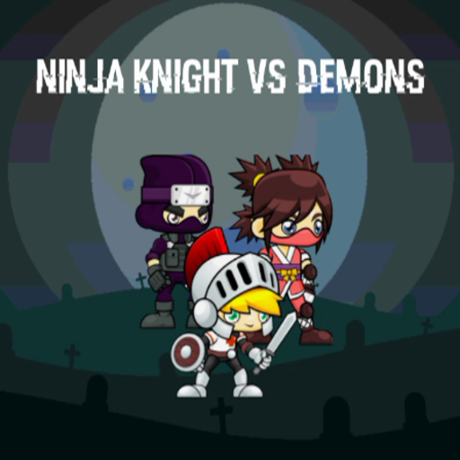 Ninja Knight VS Demons : Sword Fighting Platform Mania