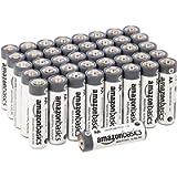 Amazon Basics Batterie industriali alcaline AA, confezione da 40