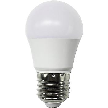 Pack de 2 bombillas LED éstandar SevenOn LED 54873, 6W equivalente a 40W, casquillo E27, 180º, 470 lúmenes, 3.000K, blanco cálido, no regulable