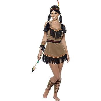 329373643db9 Smiffys - 31882S - Costume D Indienne D Amérique - Taille S  Smiffys ...