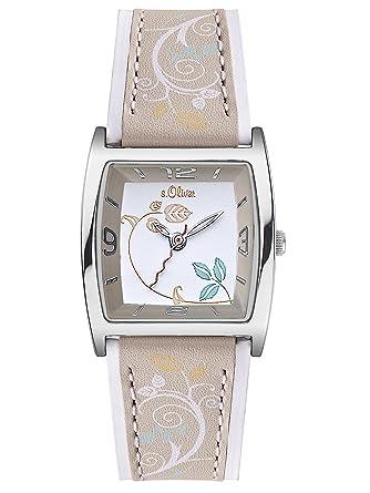 S oliver damen armbanduhr so 2121 lq