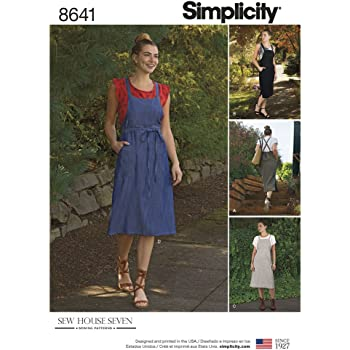 ac425b4082f866 Simplicity Women s Jumper Dress Sewing Pattern