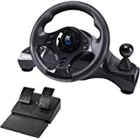 Superdrive - Rennlenkrad GS750 Drive Pro lenkräd mit Pedalen, paddels, Schalthebel und Vibration für Xbox Serie X/S, PS4…