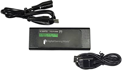 Digital Gaming World® Charger/Adapter for PSP GO - 100V to 240V Universal Use.