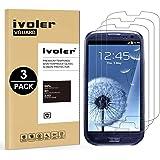 iVoler [3 Pack] Vetro Temperato Compatibile con Samsung Galaxy S3 e S3 Neo [Garanzia a Vita], Pellicola Protettiva Protezione per Schermo per Samsung Galaxy S3 e S3 Neo