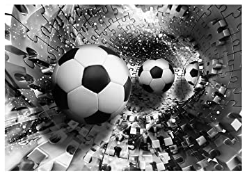 Photo Wallpaper FOOTBALL GOAL BOYS KIDS ROOM Wall Mural (3382VE) (312cm X  219cm Part 52