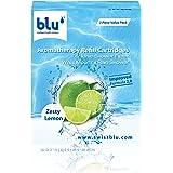 Blu Zesty Lemon Refill Cartridges Value Pack, Green, RGV3-ZL-ISF-WM/RS-V3.0, 3 Pieces