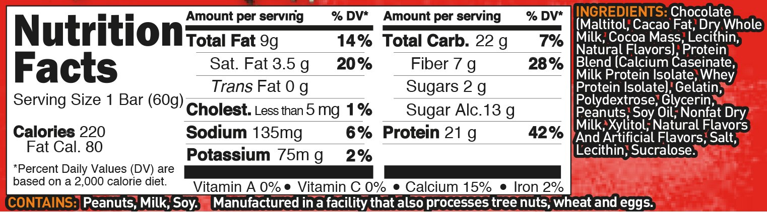 Grenade - Carb Killa Protein Bar Peanut Nutter - 12 Bars 6