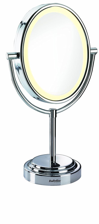 Babyliss 8435e specchio luminoso, rotondo, ingrandimento 1 5x lato ...