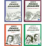 Learn Pencil Shading (Combo of 4 Books)