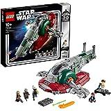LEGO Star Wars Slave I Edizione 20° Anniversario Set di Costruzioni, un Idea Regalo Collezionabile, con 5 Minifigures e 4 Blaster per Riprodurre le Scene Legate alla Saga, 75243