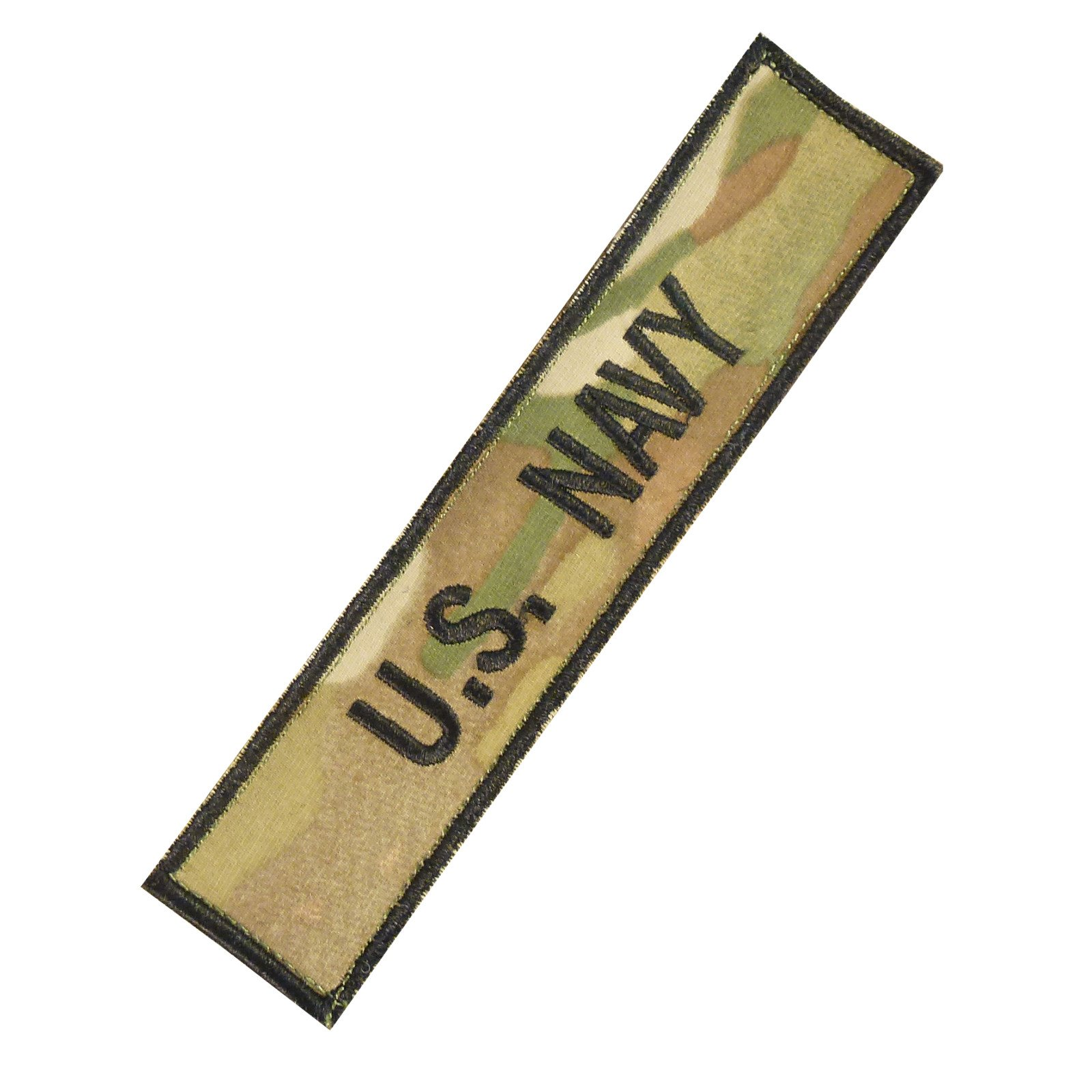 US Marina Navy USN Name Tape Multicam Ricamata Ricamo Militare Hook-and-Loop Toppa Patch
