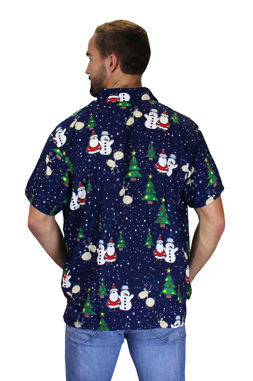 King Kameha Original Funky Hawaiian Shirt Men Xs 6xl