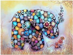 HitTime Color Image Pattern DIY 5D Diamond Embroidery Cross Stitch Painting Decor 25 * 30CM