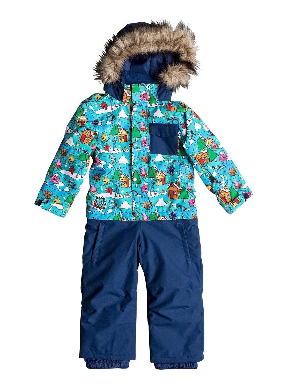 Quiksilver Mr Men Rookie – Mono para Snow para Niños 2-7 EQKTS03003