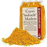 Curry Indisch Madras Gewürzmischung, 100g, pikantes und scharfes Gewürz für die asiatische Küche, hoch aromatisch, ohne Zusatzstoffe, ohne Geschmacksverstärker - Bremer Gewürzhandel