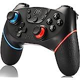 SPGOOD Manette sans fil pour Nintendo Switch, Console Bluetooth Pro pour Nintendo Switch/Switch Lite, Turbo Function Dual Sho