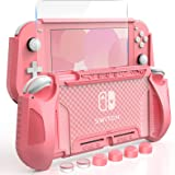 HEYSTOP Carcasa para Nintendo Switch Lite, Funda para Nintendo Switch Lite con Protector de Pantalla para Nintendo Switch Lit