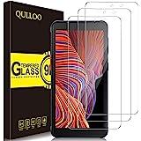 QULLOO Protector de Pantalla Samsung Galaxy Xcover 5, Cristal Templado [9H Dureza][Alta Definición][Fácil de Instalar] para S