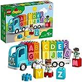 LEGO 10915 DUPLO Mijn Eerste Alfabet Speelgoedauto met Letterstenen, Educatief Speelgoed voor Peuters van 1,5 Jaar Oud