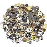 Hysagtek bricolage Craft boutons boutons à coudre pour tricoter, taille assortie et couleur