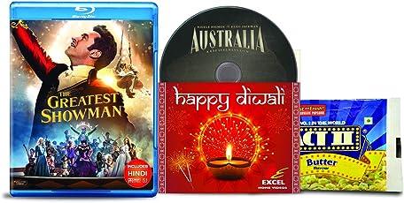 The Greatest Showman + Australia - 2 English Movies (2 Blu-ray bundle offer)