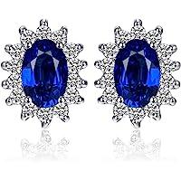 JewelryPalace Donna Naturale Granato Citrino Topazio Ametista Peridoto Sintetico Alessandrite Rubino Zaffiro Smeraldo…