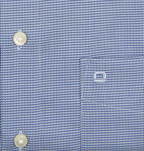 OLYMP -  Camicia classiche  - A quadri - Classico  - Maniche lunghe  - Uomo Blu scuro