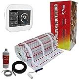 Nassboards Premium Pro - Kit de Calefacción Eléctrica Por Suelo Radiante Caja Roja de 150 W por 2.5m² Termostato Smart WiFi