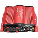 KKmoon MA200 4 Kanal HiFi Audio Stereo Verstärker Subwoofer Auto MP3 Lautsprecher USB SD FM