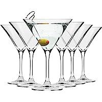 Krosno Verre à Martini Cocktail   Lot de 6   150 ML   Collection Elite   Parfait la Maison, Les Restaurants, Les Fêtes…