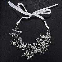 Wacemak1r - Fascia per capelli da sposa, accessorio per capelli da sposa