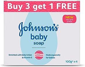 Johnson's Baby Soap 100g Buy 3 Get 1 Free