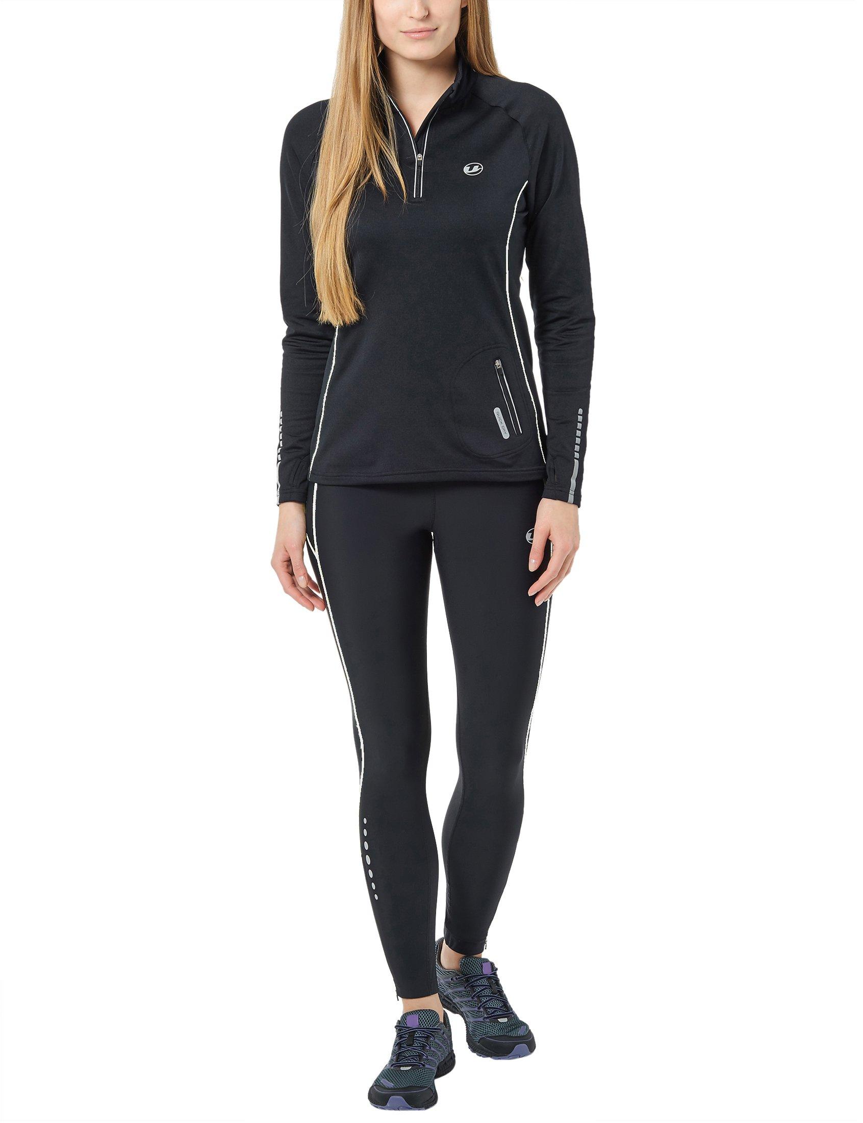 a9f8bfd55a899 Ultrasport pantalon de course femme, long avec effet de compression ...