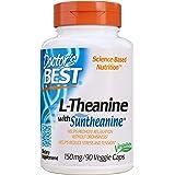 Doctor's Best, Suntheanine L-Teanina, 150 mg, 90 Cápsulas veganas, sin soja, sin gluten