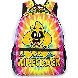 Yaxinduobao Mikecr-ack - Mochila escolar para niños para niñas, niños, ligera, duradera, para escuela primaria, mochila para