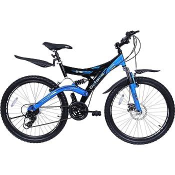 Hero SDTB26BKBL02 Octane DTB V3 Speed Bicycle, 26-inch (Black/Blue)