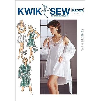 Kwik Sew Patterns K2325 Size Extra Smallsmall Mediumlarge Extra