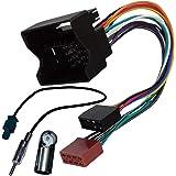 AERZETIX: Cavo adattatore spina ISO e antenna per autoradio