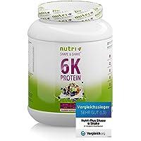 PROTEINPULVER BLUEBERRY MUFFIN 1kg - Nutri-Plus Shape & Shake ® Blaubeere - Eiweiß-Mix - Mehrkomponenten Eiweißpulver…