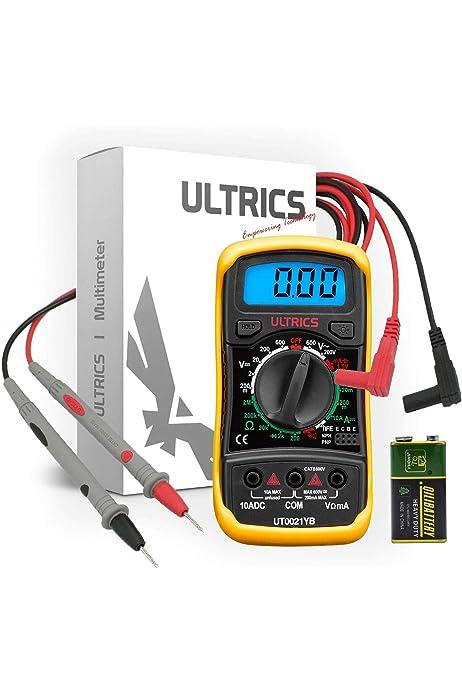 XL830L Digital Multimeter AC DC Voltmeter Ammeter Ohmmeter Meter /&Test Leads US