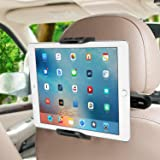 SUCESO Support Tablette Voiture Porte Tablette Téléphone Voiture pour Appui-tête Universel Rotation 360° Compatible avec iPad
