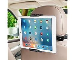 SUCESO Supporto Tablet Auto Supporto Poggiatesta per Auto Supporto Smartphone per Auto Rotazione a 360 Gradi Porta Tablet Aut