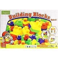 JAPSI Building Blocks (Set-2 ); Bigger Size for Kids ;Non Toxic ; Educational Game ; Improves Intellectual Capabilities…