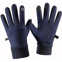 Tuelaly, 1 paio di guanti invernali da uomo, impermeabili, antivento, touchscreen, guanti leggeri e caldi per caccia…