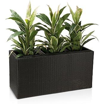 pflanzk bel blumentrog visio fiberglas blumenk bel farbe. Black Bedroom Furniture Sets. Home Design Ideas